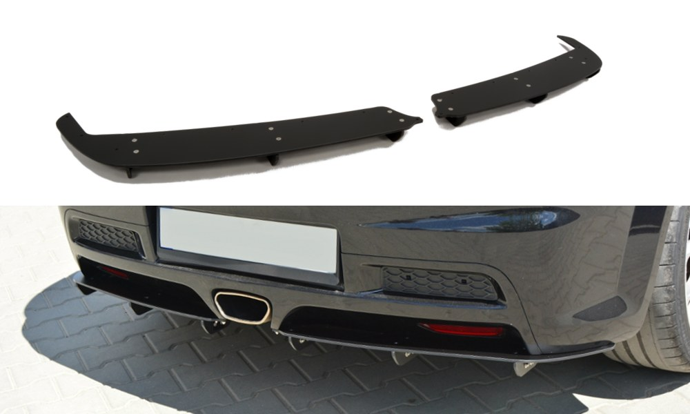 Dyfuzor Tylny Opel Astra H (Do OPC / VXR) - GRUBYGARAGE - Sklep Tuningowy
